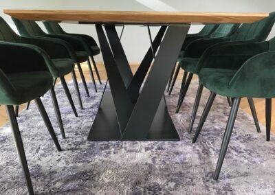 Schlosserei Strodl Untergestell für Esszimmertisch