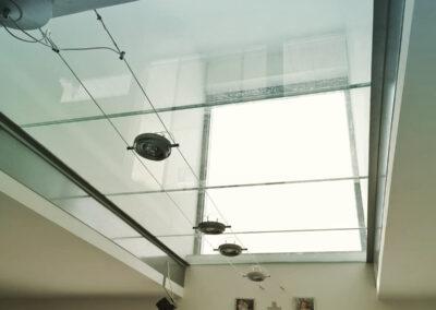 Schlosserei Strodl begehbarer Glasboden