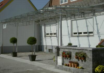 Schlosserei Strodl Glasüberdachung