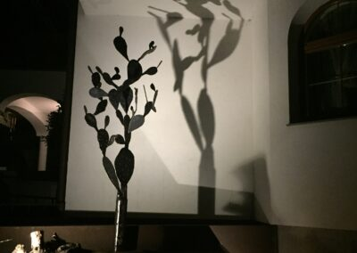 Schlosserei Strodl Kaktus aus Stahl
