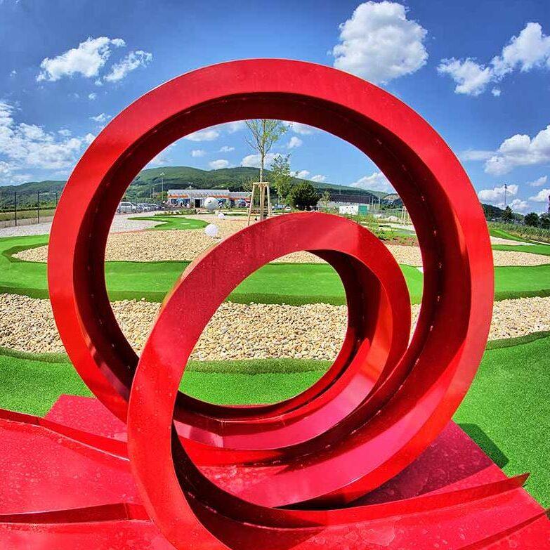Schlosserei Strodl Looping Adventure Golf