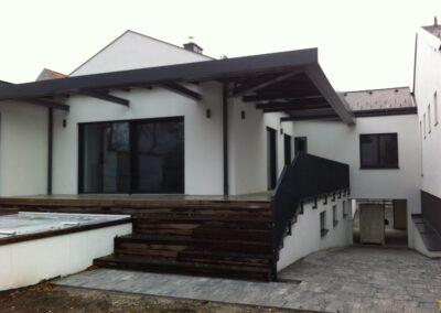 Schlosserei Strodl Terrassenüberdachung